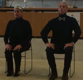 Toni e Cesare in La cantatrice Calva di Ionesco